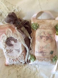 Victorian Sachet Pillows : Victorian Sachet