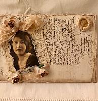 French Script Envelope w/ Image!