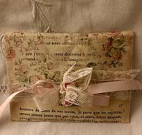 Pastel French Script Envelope!