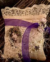 Lavender Sachet/Purple Ribbon