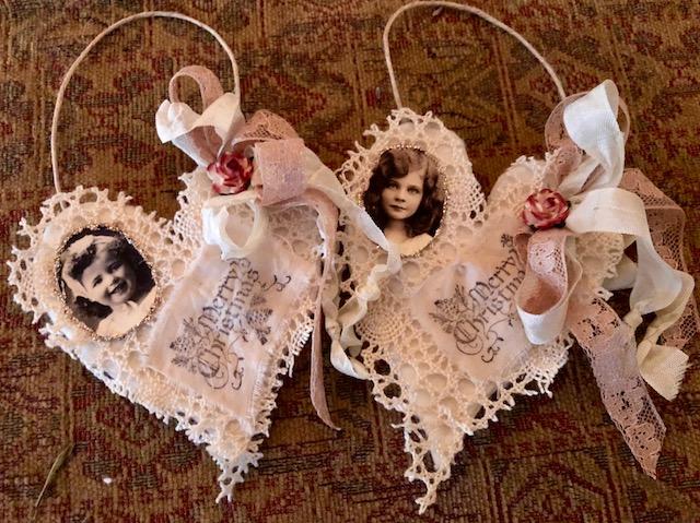 Christmas Heart Ornaments