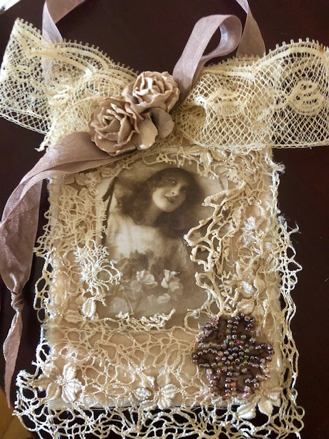 Antique Lace Collage!