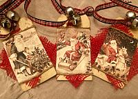 Jingle Bell Christmas Tags!