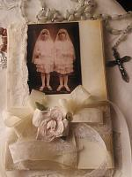 Upcycled Book-Holy Communion!