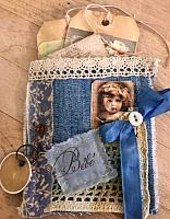 Denim Junk Journal Pocket!