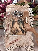 Pretty Lady Antique Lace Collage!
