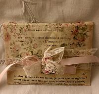 Pastel French Script Envelope!