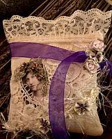Lavender Sachet/Purple Ribbon