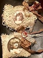 Antique Lace Mini Lavender Sachets!