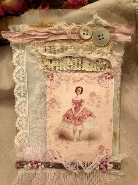 Ballet Theme Glassine Journal Bag!